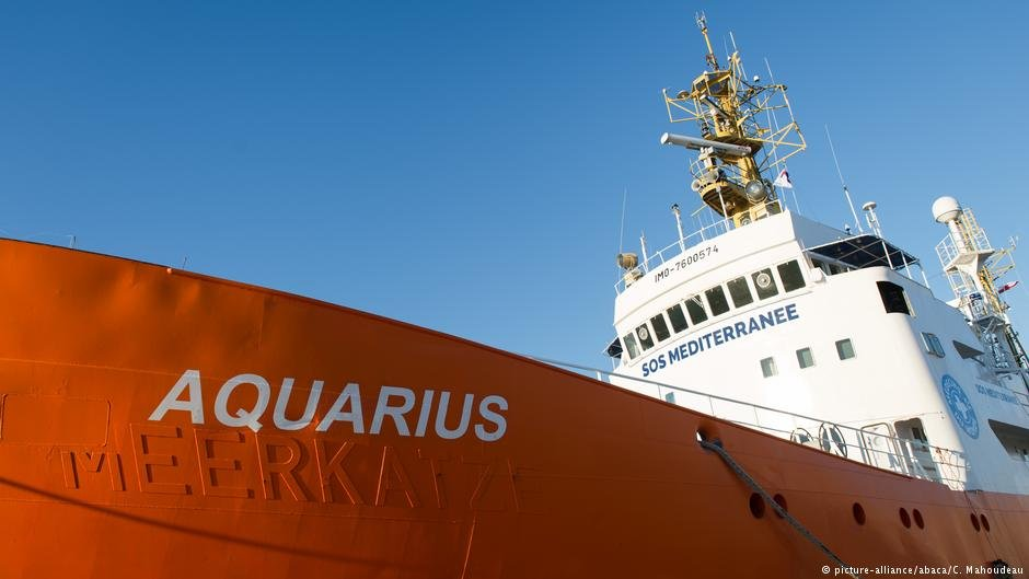 The Aquarius rescue ship in 2016 | Photo: picture-alliance/abaca/C. Mahoudeau
