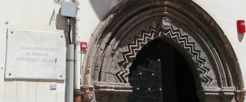 ANSA / مدخل الكونسرفاتوار المشارك بالنشاط الثقافي لطالبي اللجوء والمهاجرين في إيطاليا/ مصدر الصورة: برنامج حماية طالبي اللجوء والمهاجرين الإيطالي.