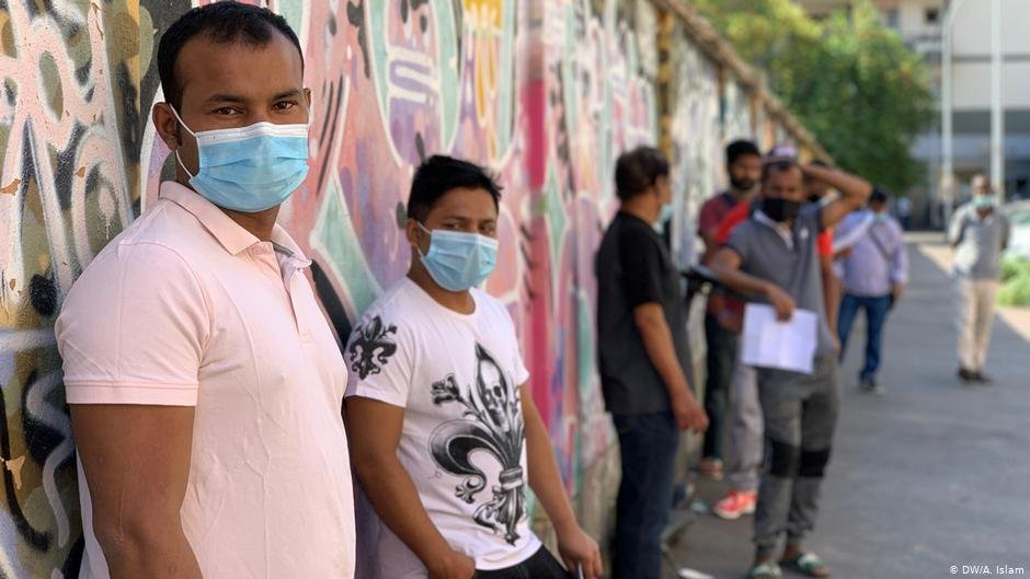 Bangladeshi migrants in Rome, Italy   Photo: DW/A.Islam