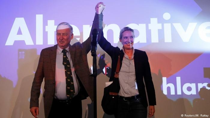 Gauland and Weidel, AfD