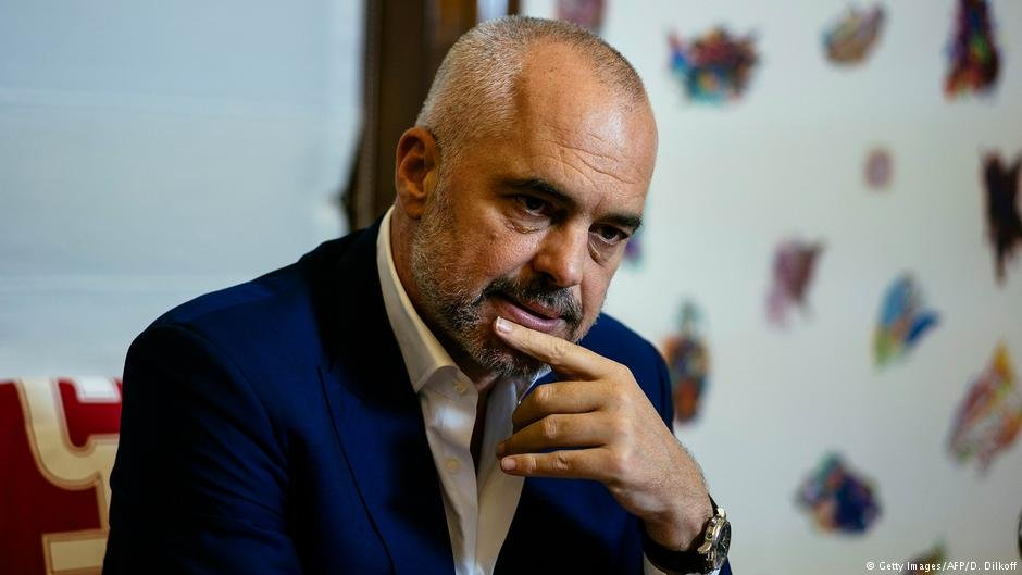 عکس از دویچه وله/ ادی راما، نخست وزیر البانیا