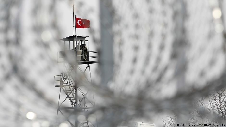 یک پست نگهبانی مرزی در ترکیه. عکس از پیکچر الیانس