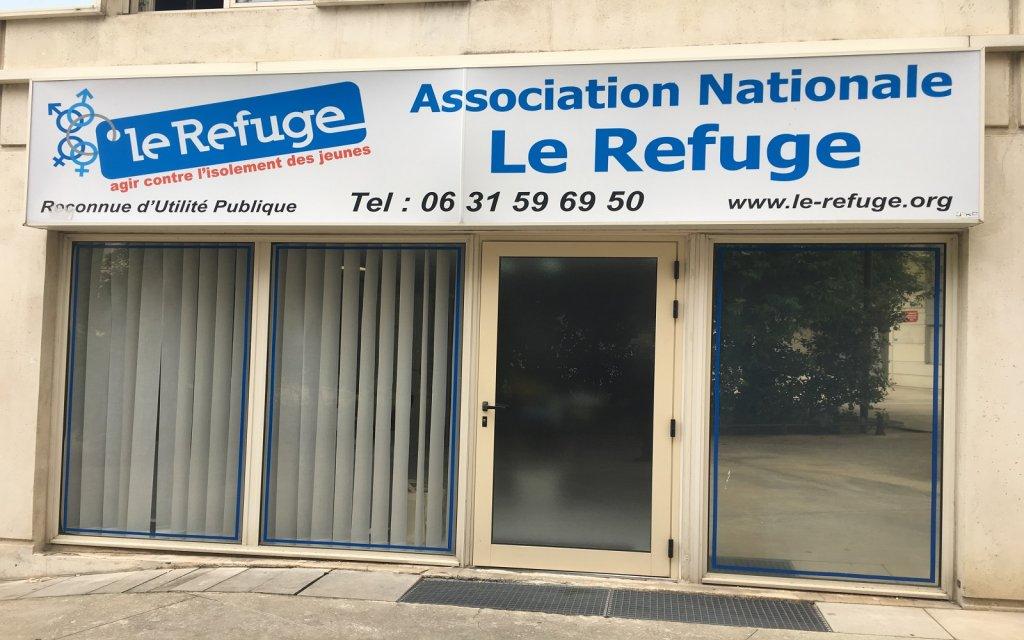 """مقر جمعية """"الملجأ"""" في مونبولييه/ مهاجر نيوز"""