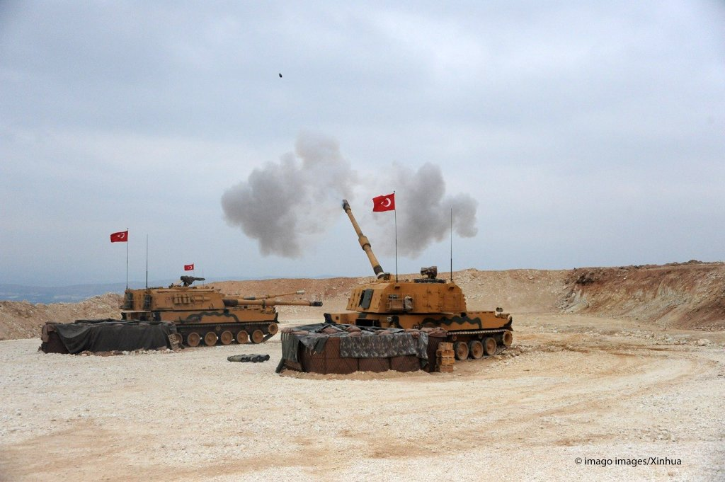 Turkish army launches a military operation into northern Syria on the Turkey-Syria border on October 9, 2019 | Photo: Imago Images/Xinhua
