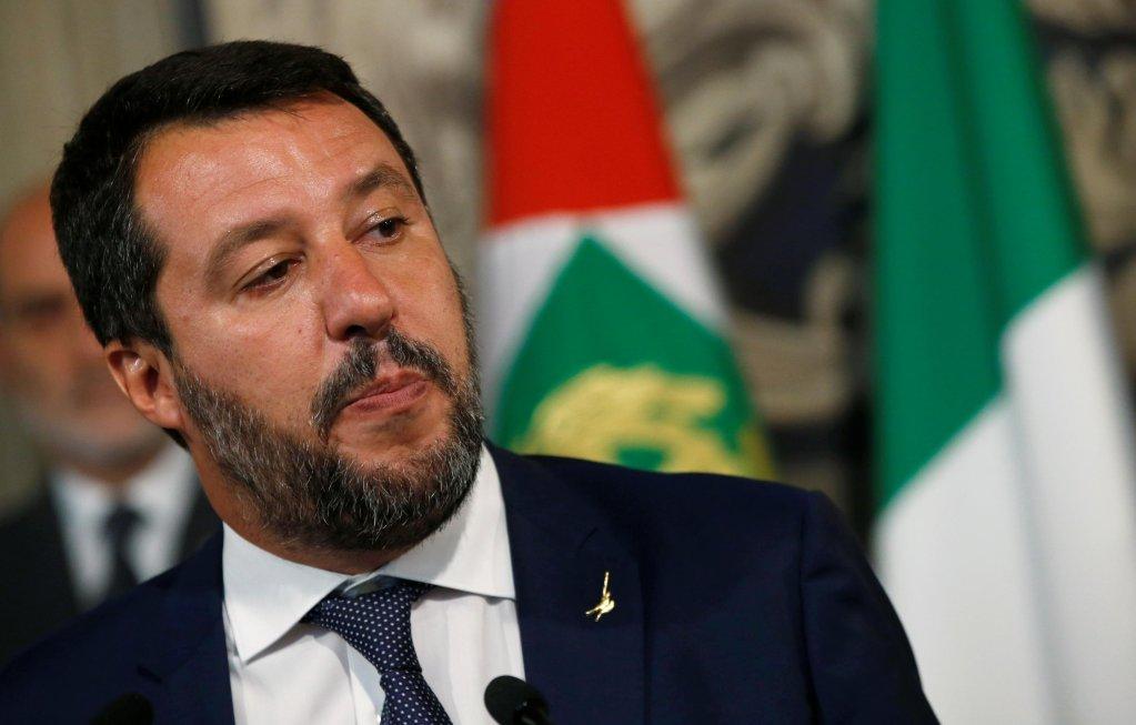 REUTERS/Ciro de Luca |Matteo Salvini, à Rome le 28 août 2019.
