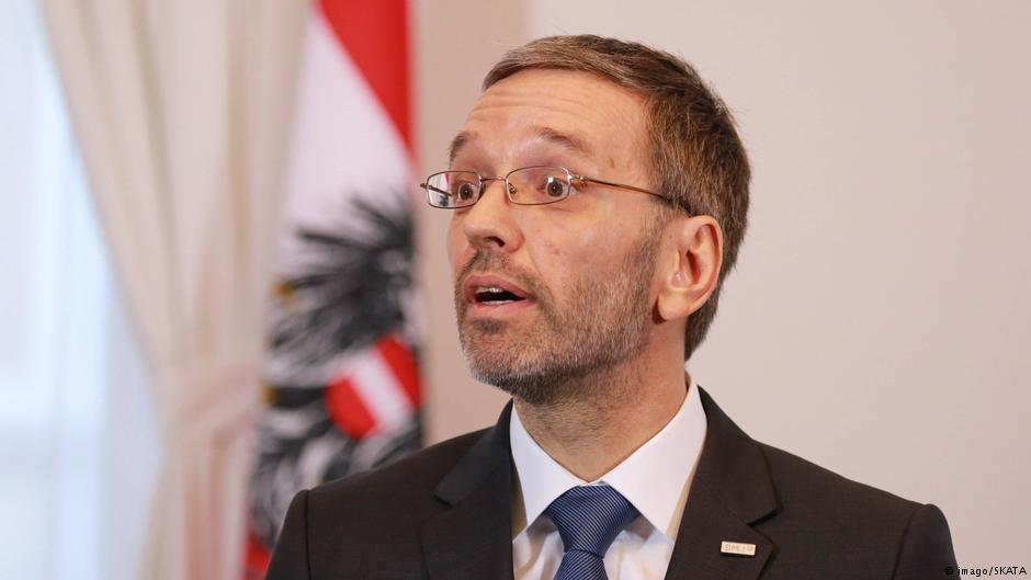 Austria's Interior Minister Herbert Kickl | Photo: Imago / SKATA