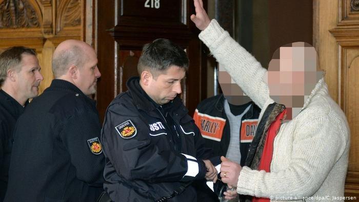 إبراهيم ميري أمام المحكمة في إحدى القضايا المتهم فيها عام 2014