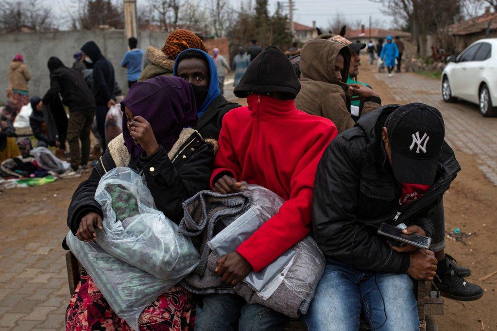 Image d'illustration de migrants à Erdine, à la frontière turco-grecque. Crédit : Reuters