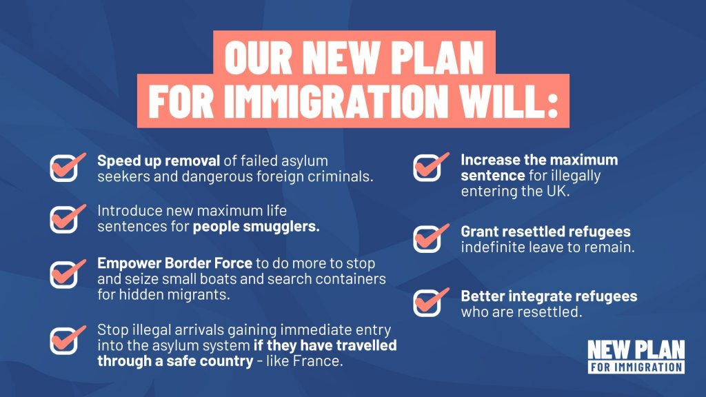 The UK Home Secretary outlined Britain's new plan for immigration on March 24 | Source: UK Home Office Twitter feed @pritipatel