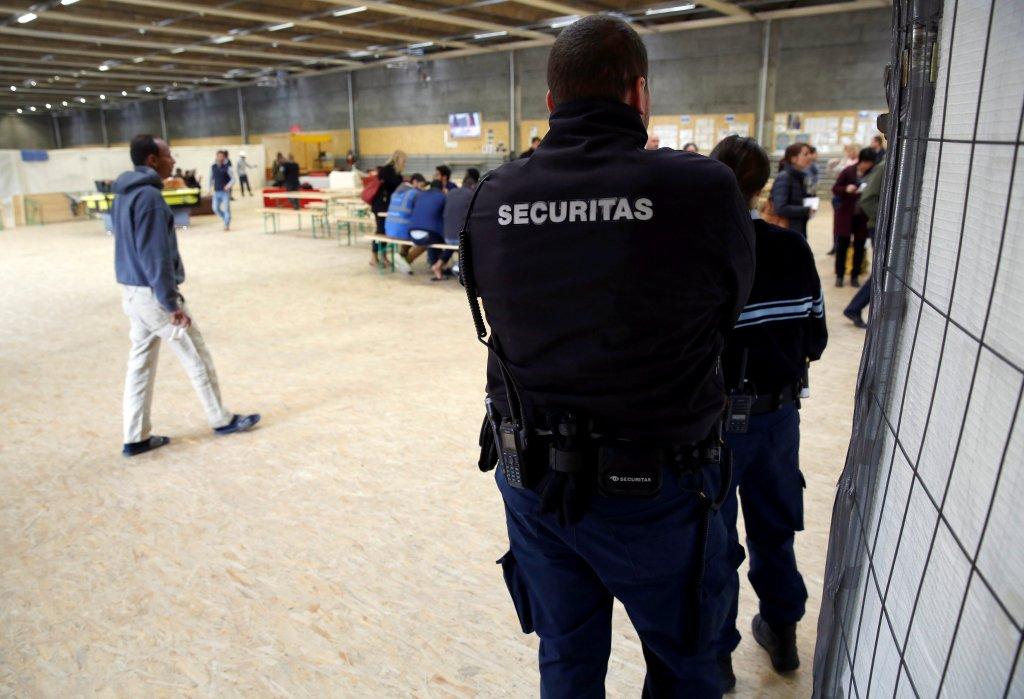 Image d'illustration dans un centre pour migrants de Thoune, dans le centre de la Suisse. Crédit : Reuters