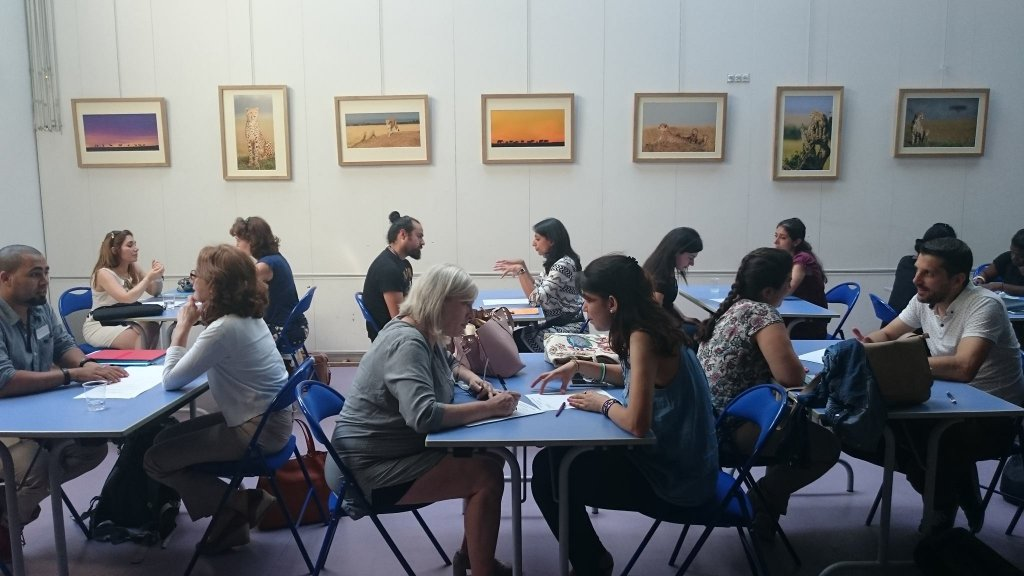 Kodiko also organises speed-dating activities and courses for migrants. Photo: Kodiko