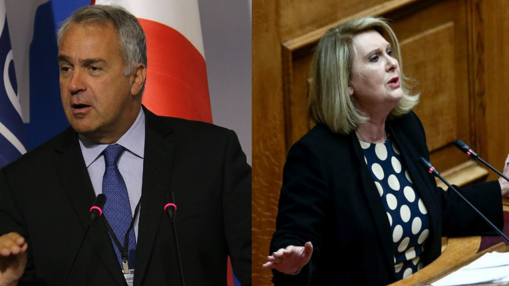 Greece: Makis Voridis and Sofia Voultepsi will take over as interioir minister and deputy migration minister respectively | Credit: Wiki commons OSCE Parliamentary Assembly / ekathimerini.com