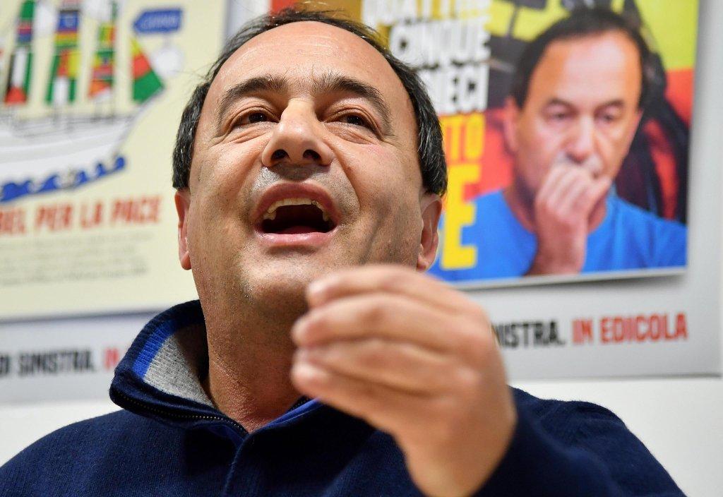 Domenico 'Mimmo' Lucano   Photo: ANSA/ETTORE FERRARI