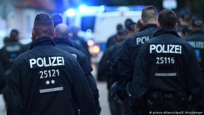پولیس آلمان. عکس آرشیف