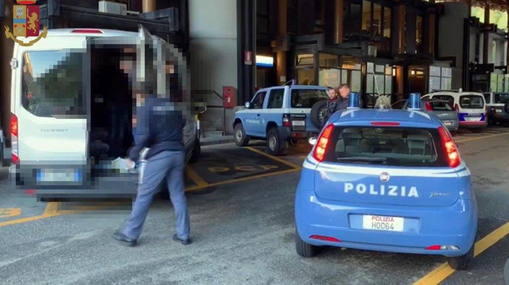A police operation against illegal immigration on November 11, 2019 | ANSA/ Polizia di Stato