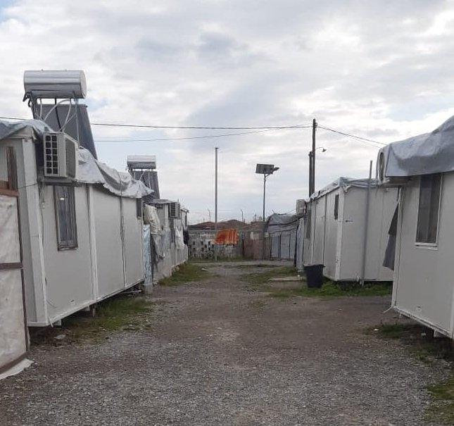 د یونان الکسندریه ښار کې مهاجر کمپ. انځور: دي ار