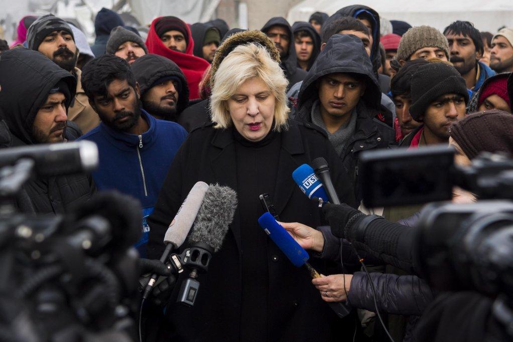 دنيا مياتوفيتش مفوض حقوق الإنسان بالمجلس الأوروبي. المصدر: إي بي إيه/ جان - كريستوف بوت
