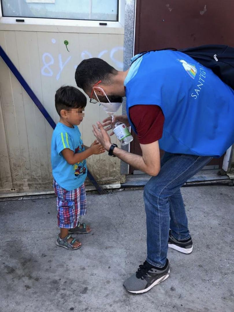 The Community of Sant'Egidio has been working on Lesbos for some years now and has already airlifted several groups of asylum seekers and vulnerable migrants to begin new lives in Italy  | Photo: Courtesy of Sant'Egidio