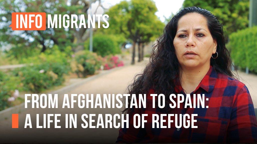 Shola Rashid's story | Source: Video report InfoMigrants