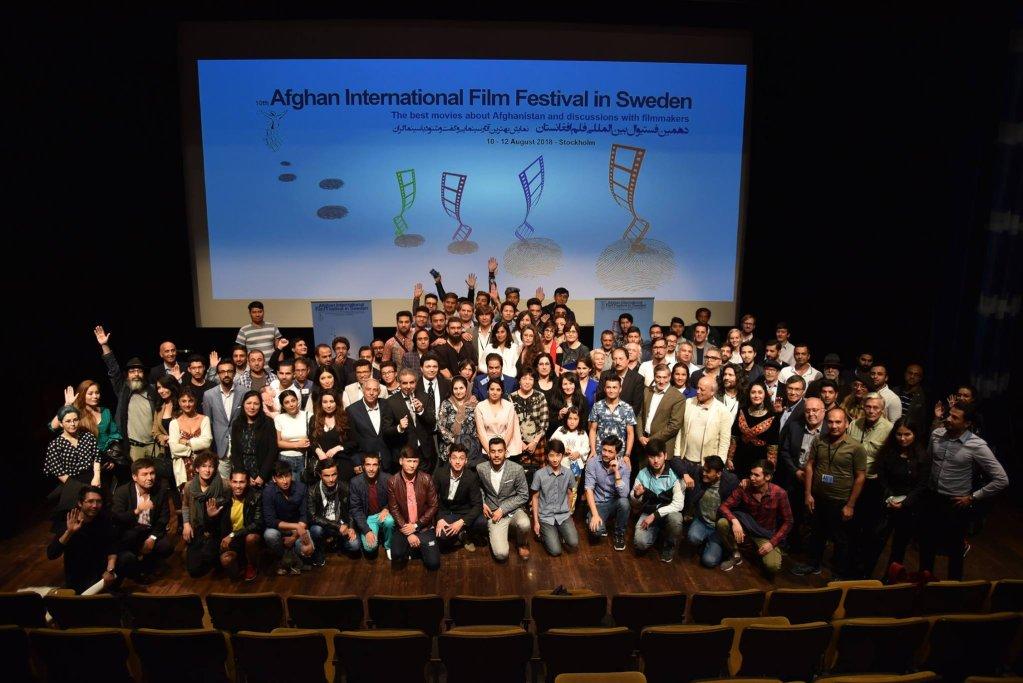 دهمین فستیوال بین المللی فیلم افغانستان در سویدن. عکس از AFIFF