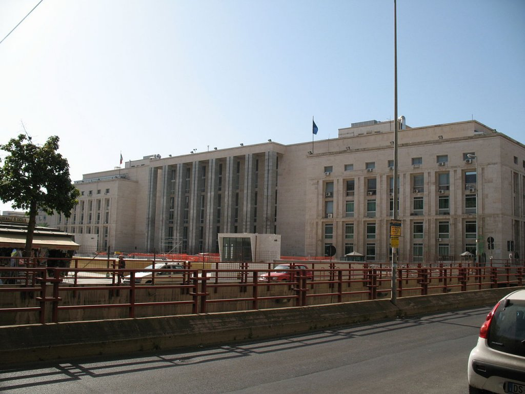 Wikipédia |Palais de justice de Palerme, Italie (photo d'archives).