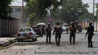 عکس از آرشیف/ پس از یک حمله در شهر جلال آباد را نشان میدهد.
