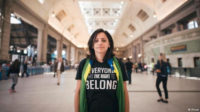 مها مامو تكافح من أجل الدفاع عن عديمي الجنسية
