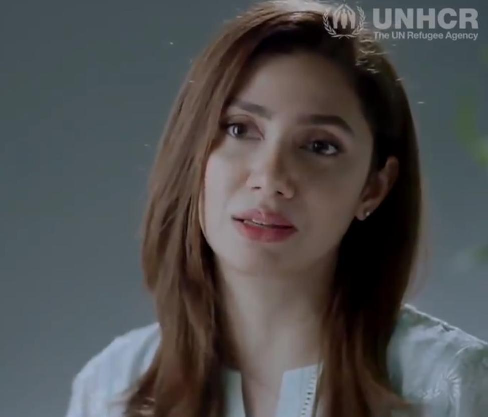 پاکستانی اداکاه ماهره خان، UNHCR/ANSA