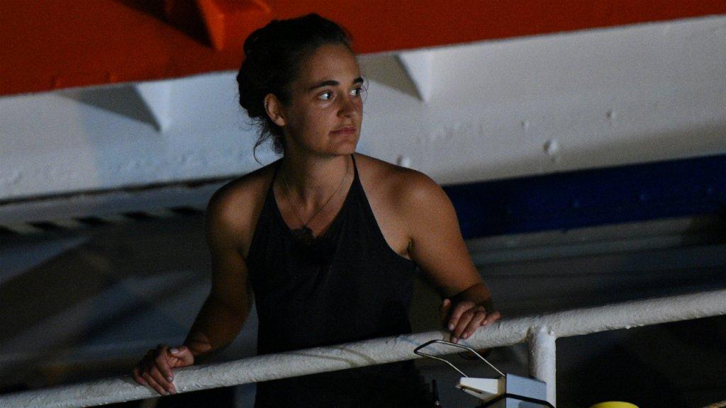 القبطانة الألمانية كارولا راكيته/ رويترز
