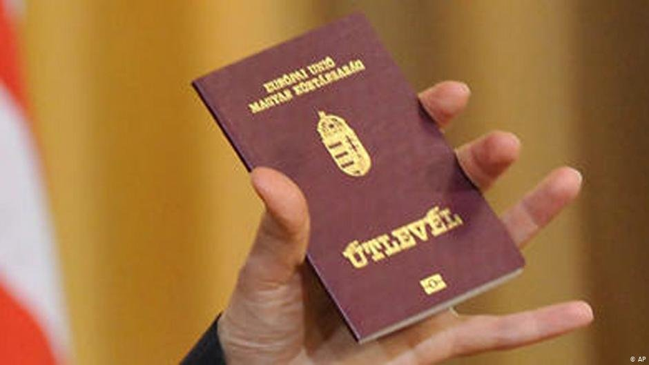 Hungarian passport | Photo: AP