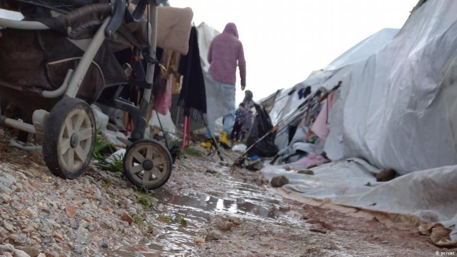 اردوگاه کاراتیپه جزیره لیسبوس دسمبر ۲۰۲۰