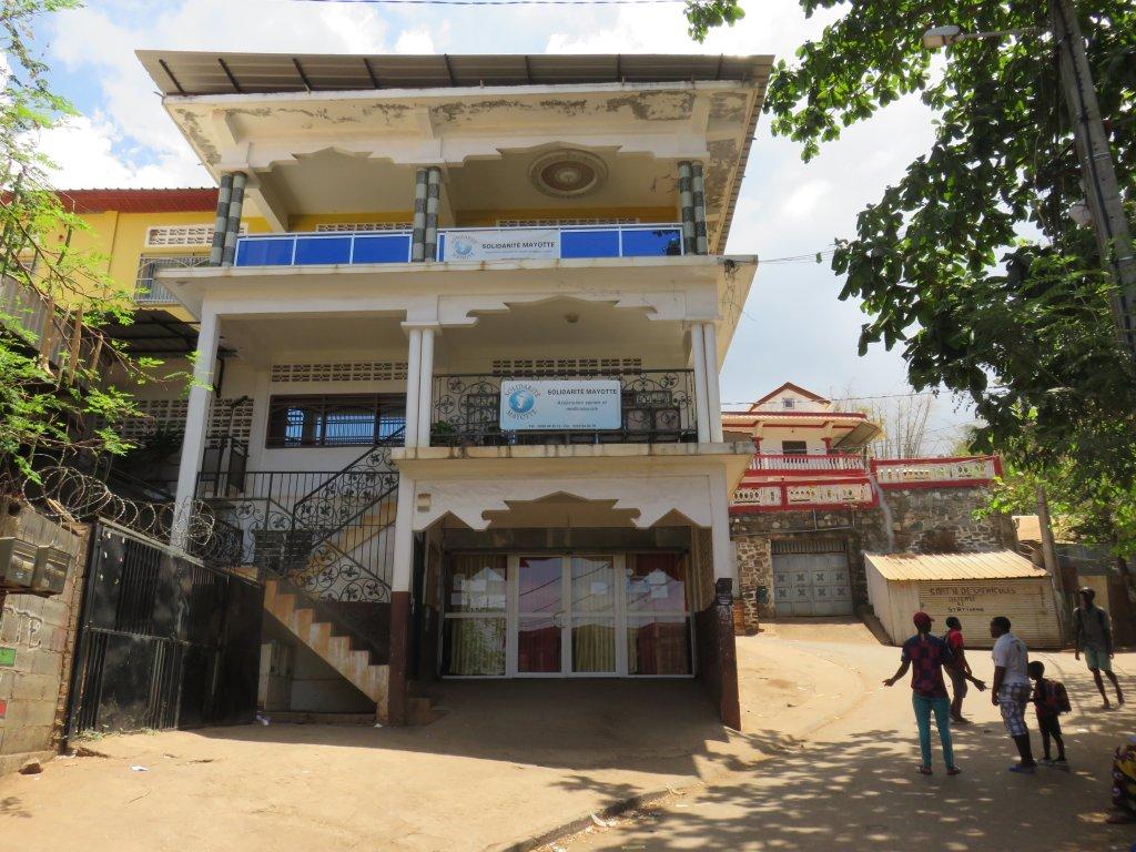 Les locaux de l'association Solidarité Mayotte. Crédit : Valentine Patry