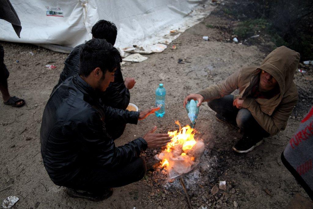 مخيم فيتشياك في البوسنة
