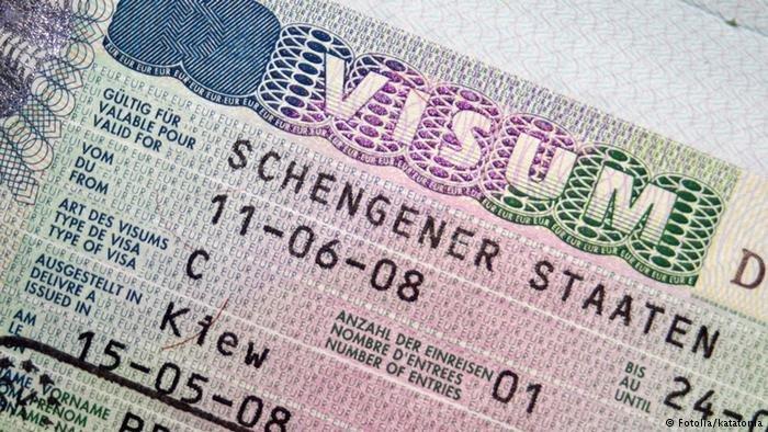 صورة لتأشيرة دخول شينغن. الحقوق محفوظة
