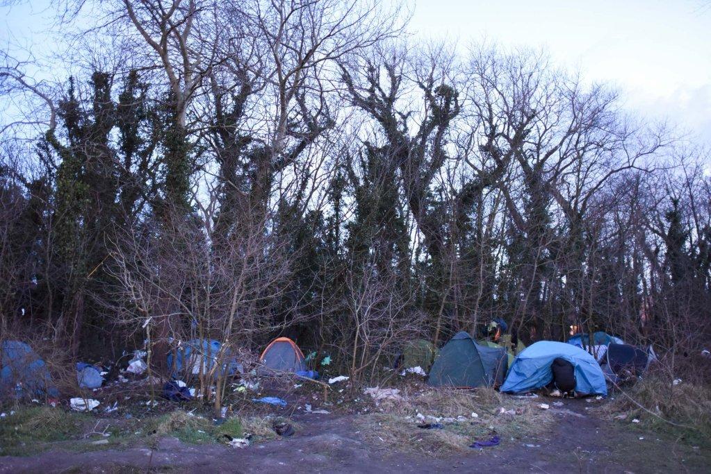 مخيم كاليه. أرشيف