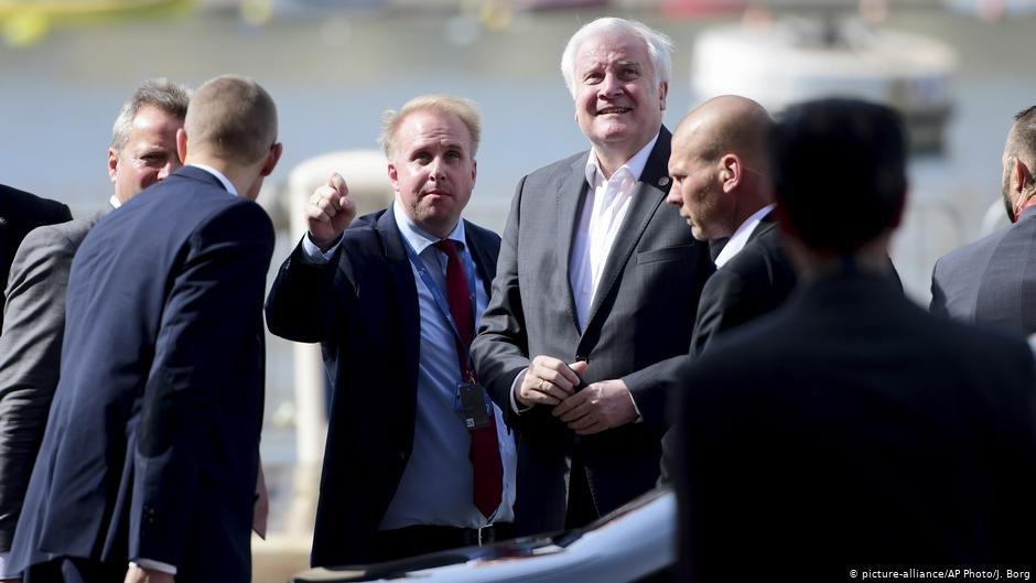 وزراء داخلية ألمانيا وفرنسا وإيطاليا ومالطا