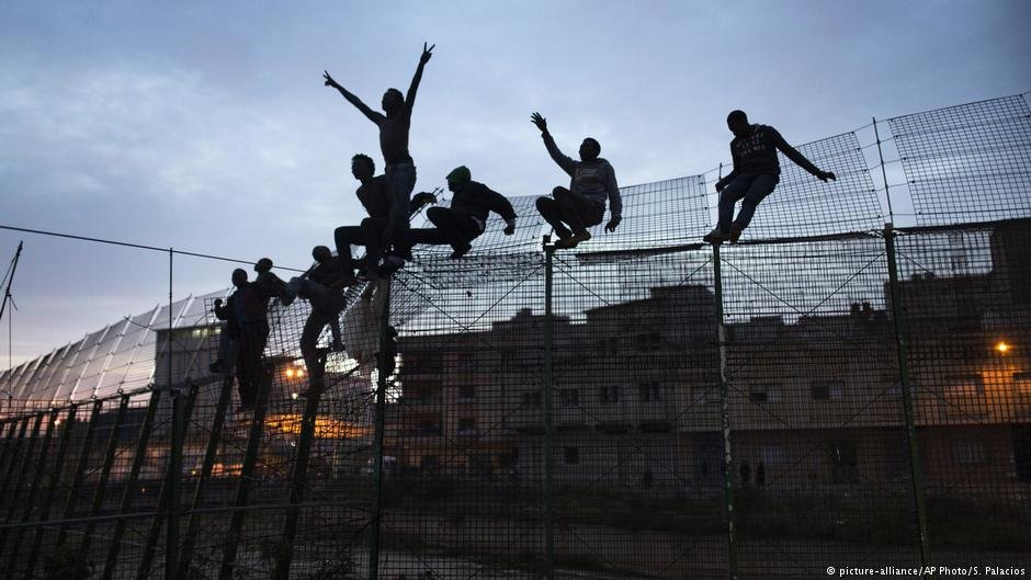 This border fence without barbed wire between Melilla and Morocco might soon no longer be a rarity