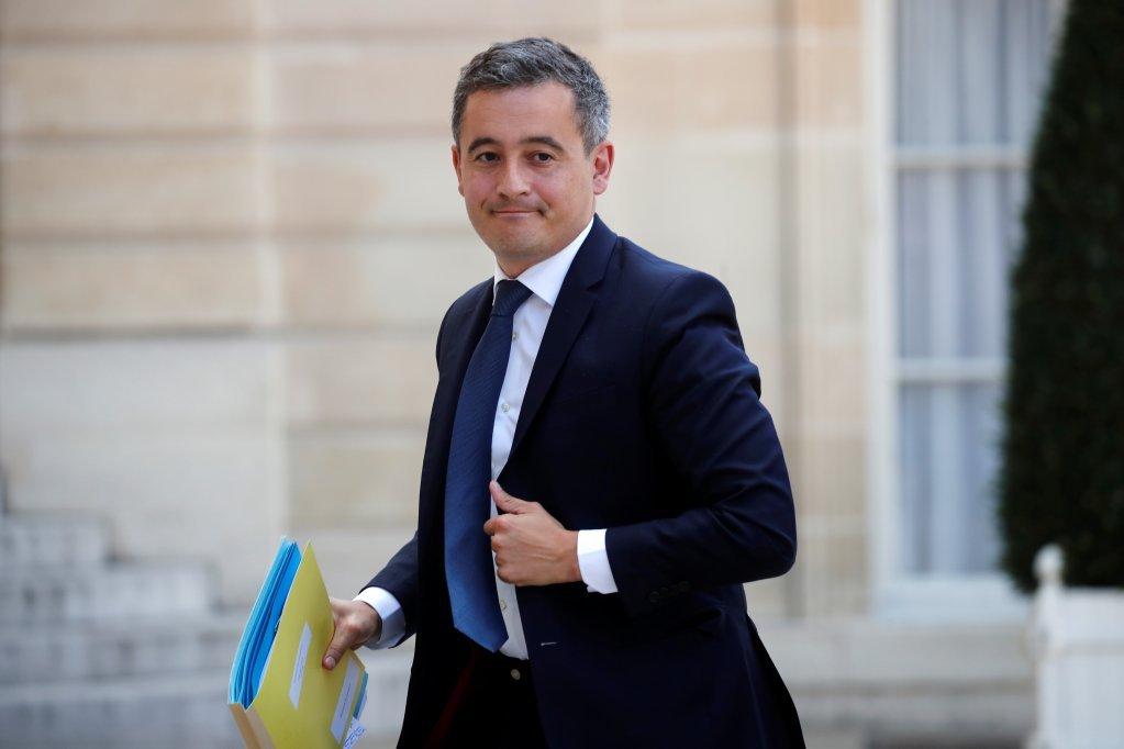 وزير الداخلية الفرنسي، جيرالد دارمانين. المصدر: رويترز