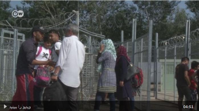 پناهجویاندر مرز صربستان و مجارستان