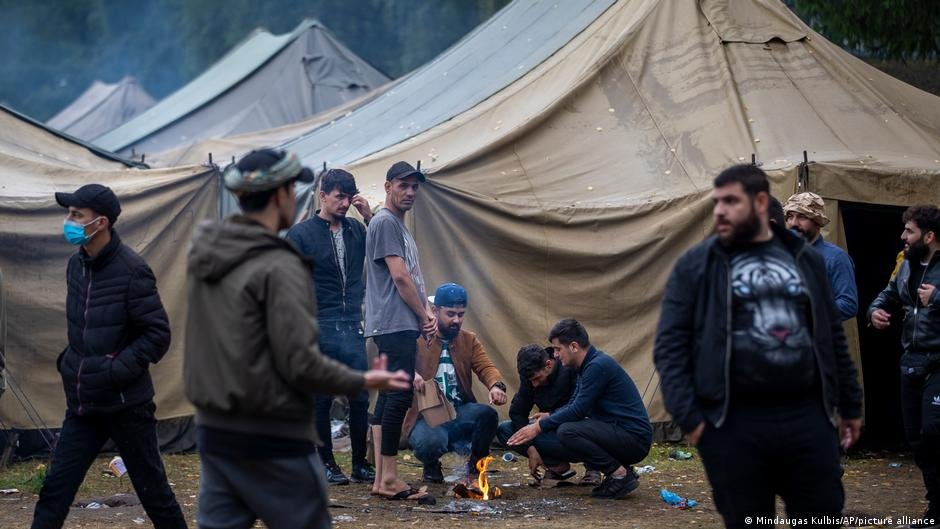 Thousands of people are already in refugee reception centers in Lithuania | Photo: Picture-alliance