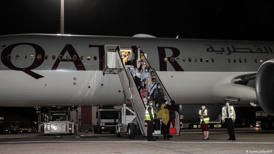 اولین پرواز ملکی از میدان هوایی کابل بعد از خروج نیروهای امریکایی از افغانستان (۹ آگست ۲۰۲۱)
