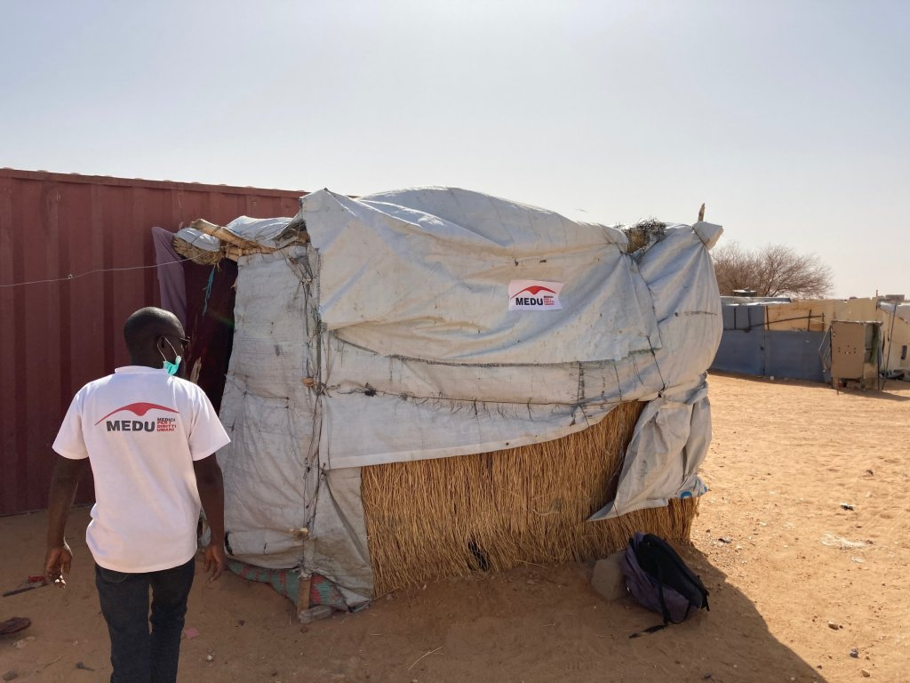 Humanitarian site of Agadez, Niger, April 2021 | Photo: MEDU