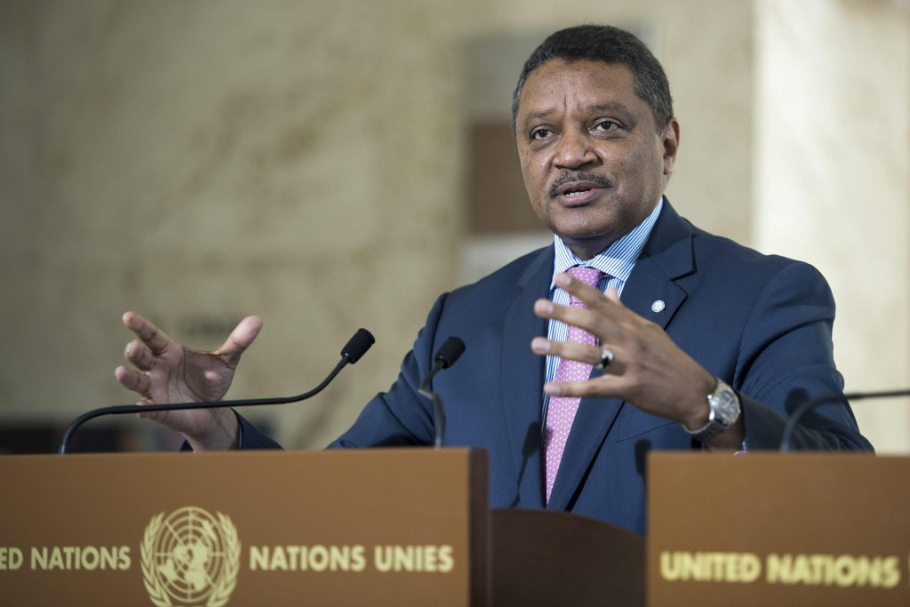 Yacoub El Hillo, United Nations Humanitarian Coordinator for Libya | Photo: EPA/Martial Trezzini