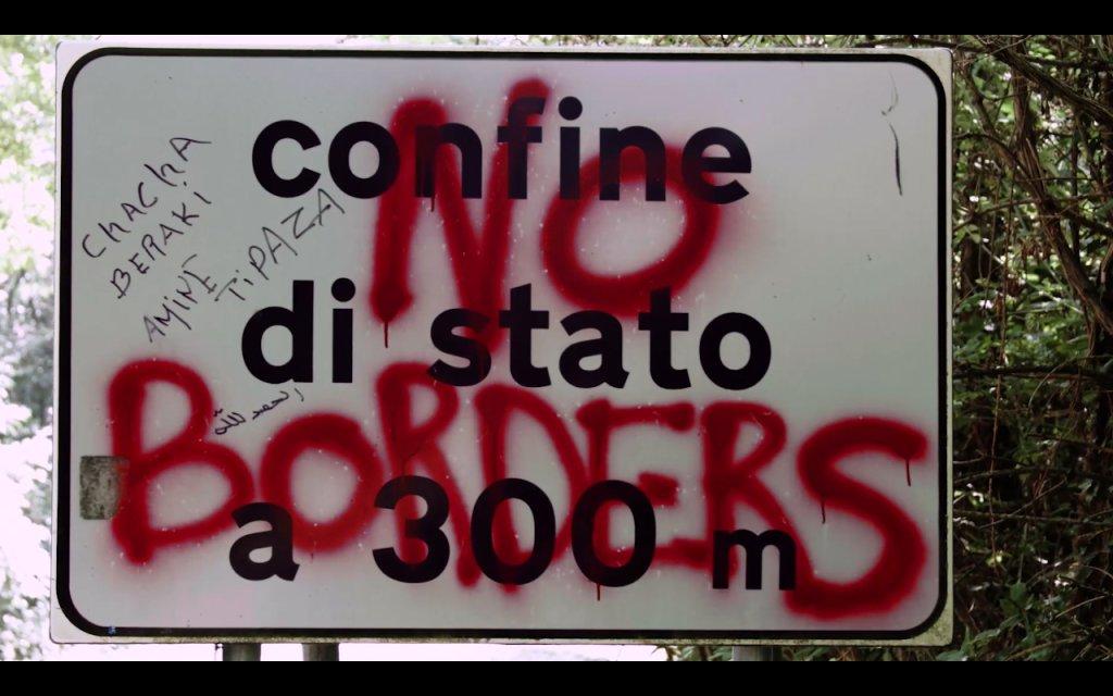 A screengrab of documentary film 'No Borders'   Source: ANSA