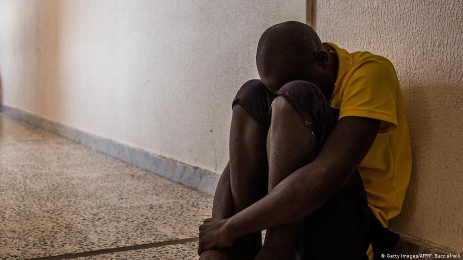Amnesty International in a report in July 2021 said people in Libyan camps were subjected to torture, sexual violence, and forced labor | Photo: Getty Images/AFP/F.Buccialrelli (via DW)