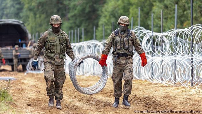 Poland wants to build a multi-million euro wall at the border but it will have to pay the bill itself | Photo: picture alliance
