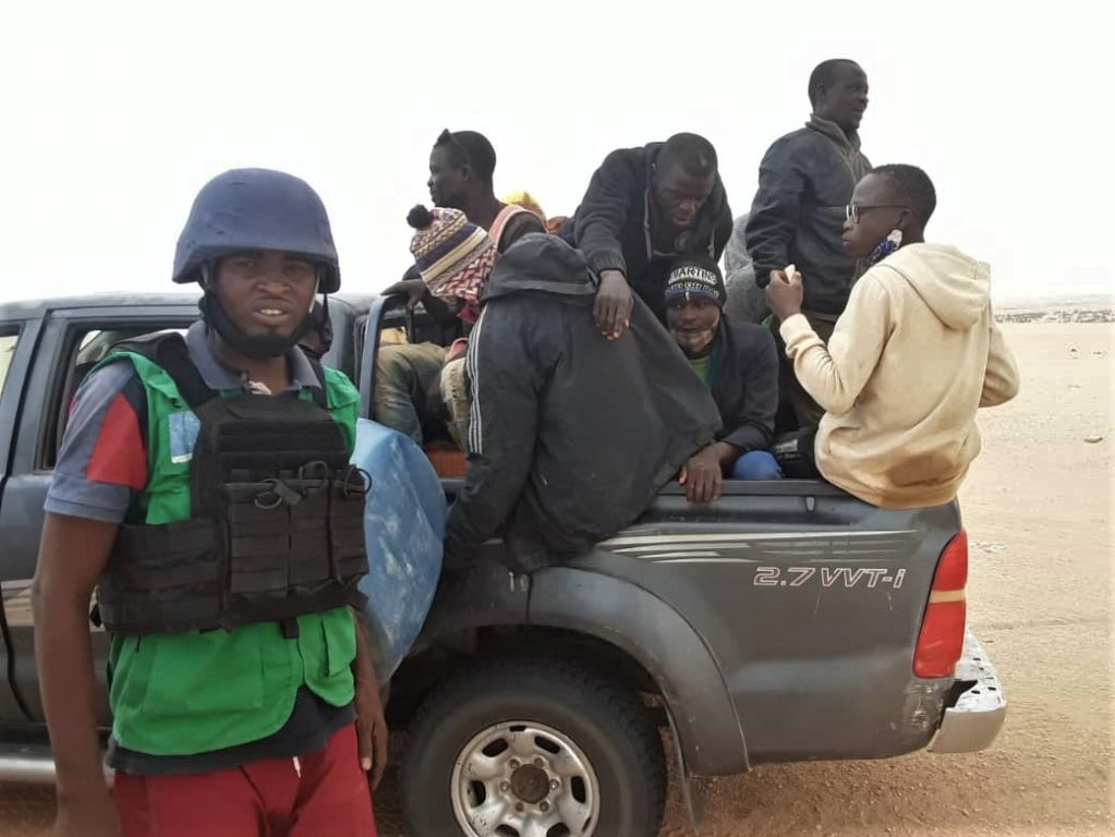 IOM's community mobilizers participated in the Search and Rescue operation organized on 3 September, which brought 83 migrants to safety | Photo: IOM