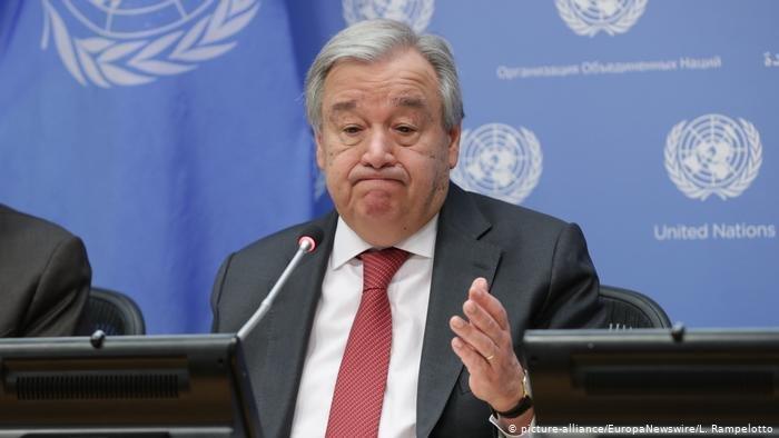 انتونیو گوترش، د بیر کل سازمان ملل متحد