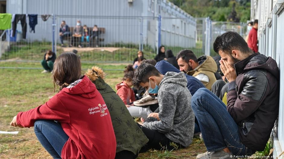 Some 2,600 migrants who arrived via Belarus are being housed in the state of Brandenburg | Photo: Patrick Pleul/dpa/picture-alliance