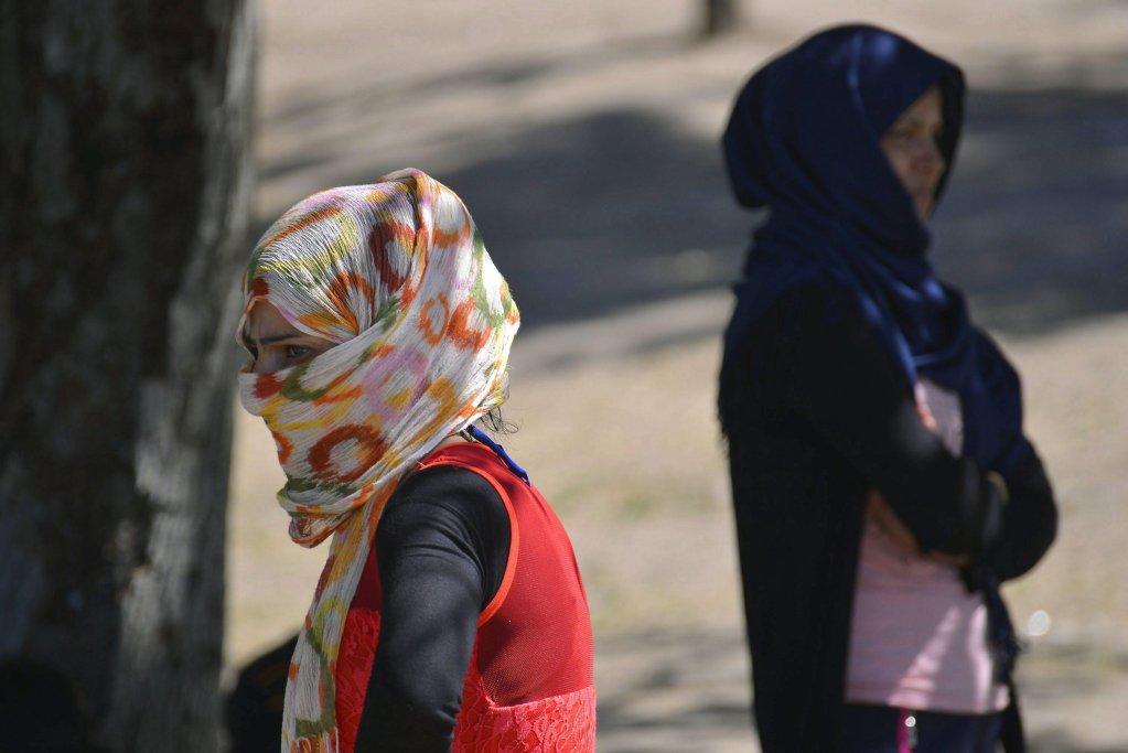 Migrant women in Serbia. Credit: UNHCR